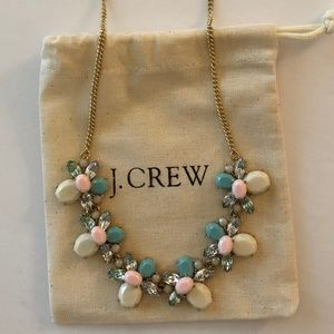 """J. CREW MIXED STONES NECKLACE - LENGTH: 16"""" TO 18"""""""